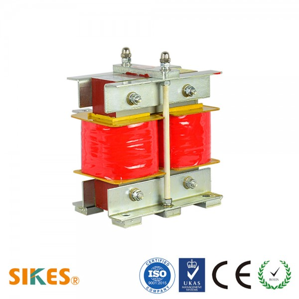 DC Choke for 400V Inverter, Rated Current 210A [Vertical]